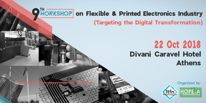 9th Workshop on Flexible & Printed Electronics Industry